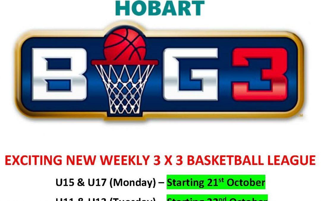 BIG3 – 3 x 3 REGISTRATIONS NOW OPEN