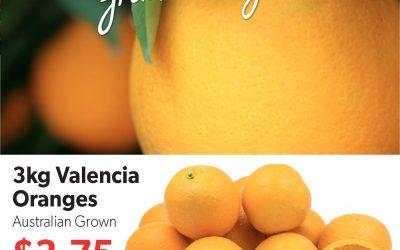 Salamanca Fresh Specials – 9 October 2019